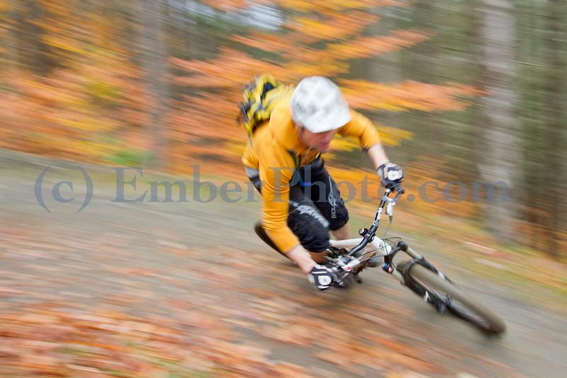 Mountain biking in Northfield, Vermont