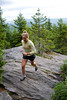 Trail running - Green Mountains, Vermont, USA<br /> <br /> ©Brian Mohr/ EmberPhoto - All rights reserved